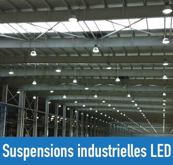 Suspensions industrielles led